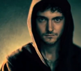 "Exclusive VIKINGS George Blagden ""Athelstan"" Interview History Channel"