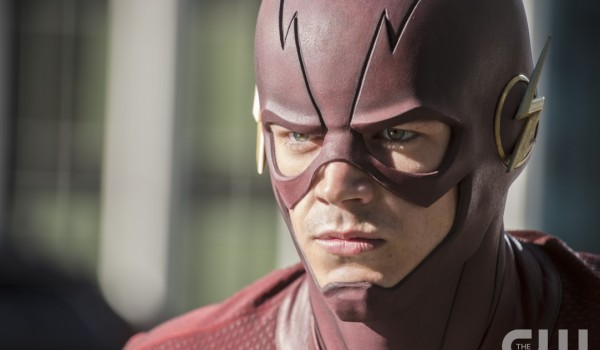 """The Flash -- """"The Man Who Saved Central City"""" -- ImageFLA201c_0236b.jpg -- Pictured: Grant Gustin as The Flash -- Photo: Cate Cameron /The CW -- © 2015 The CW Network, LLC. All rights reserved."""